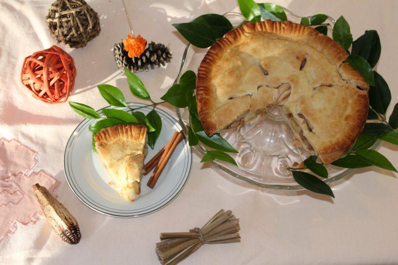 torta maca apple pie