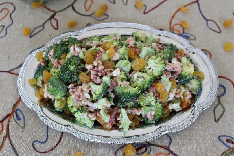salada brocolis cru