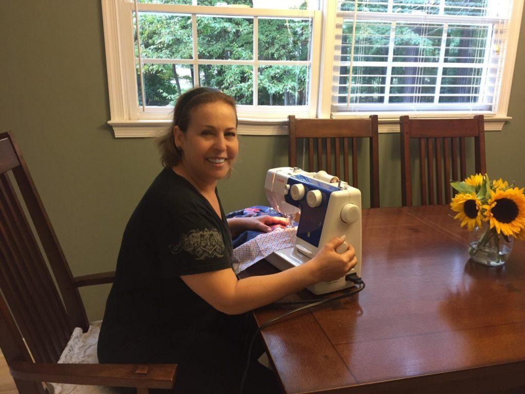 costurar costurando