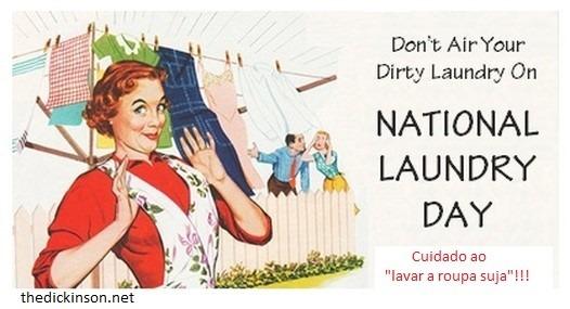 roupa suja lavar