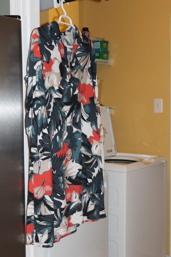 lavr roupas secar vestido