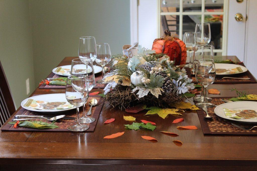thanksgiving acao de gracas mesa table