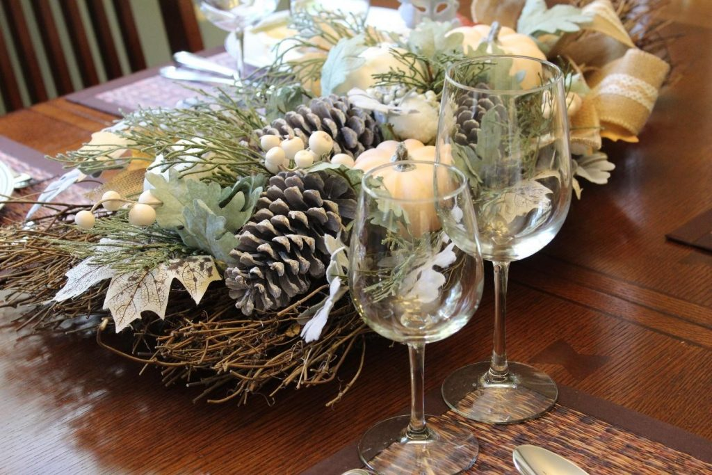 Thanksgiving mesa decoracao table decoration acao de gracas