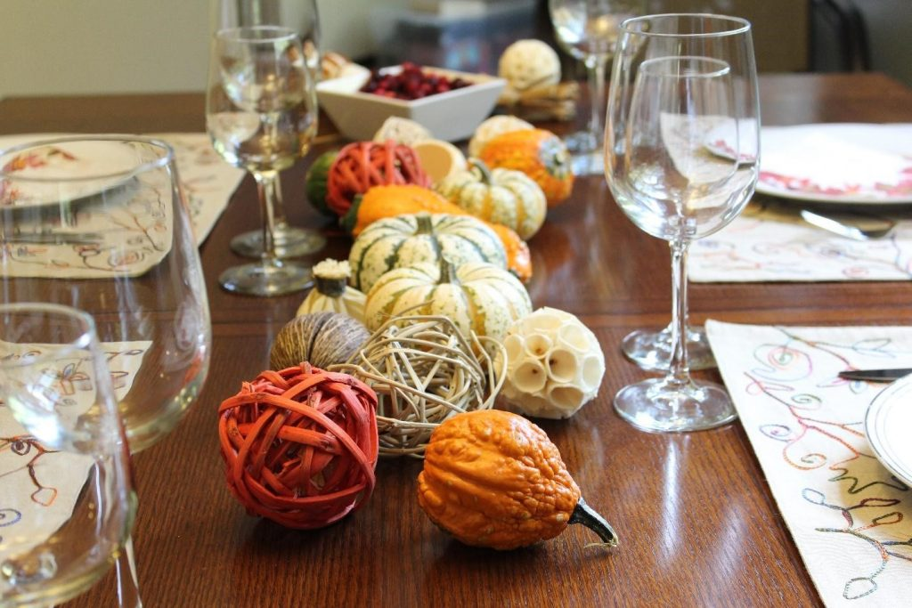 thanksgiving fall pumpkin decoration decoracao mesa table