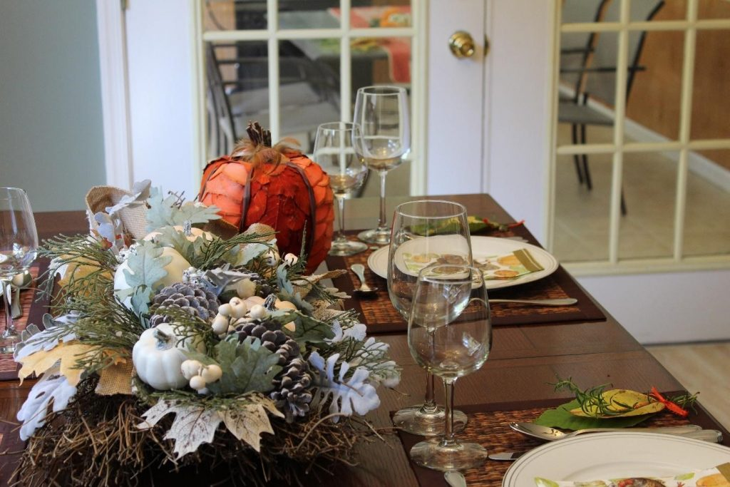 Thanksgiving tablescape mesa acao de gracas decoracao