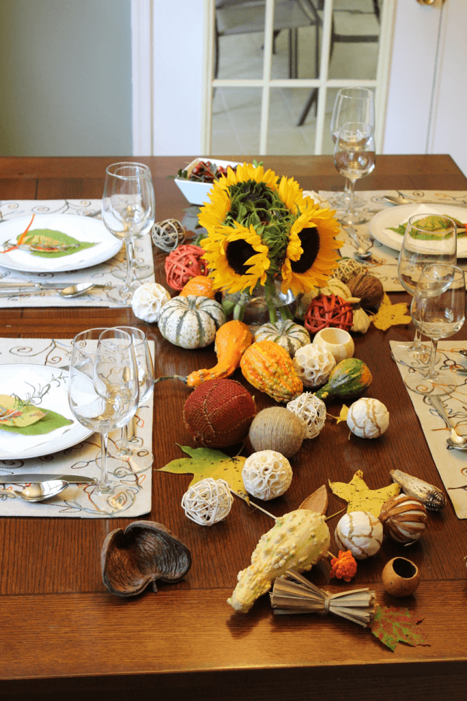 thanksgiving tablescape mesa decoracao acao de gracas elementos naturais