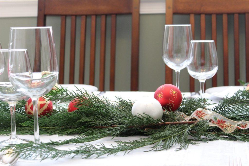 natal mesa decoracao