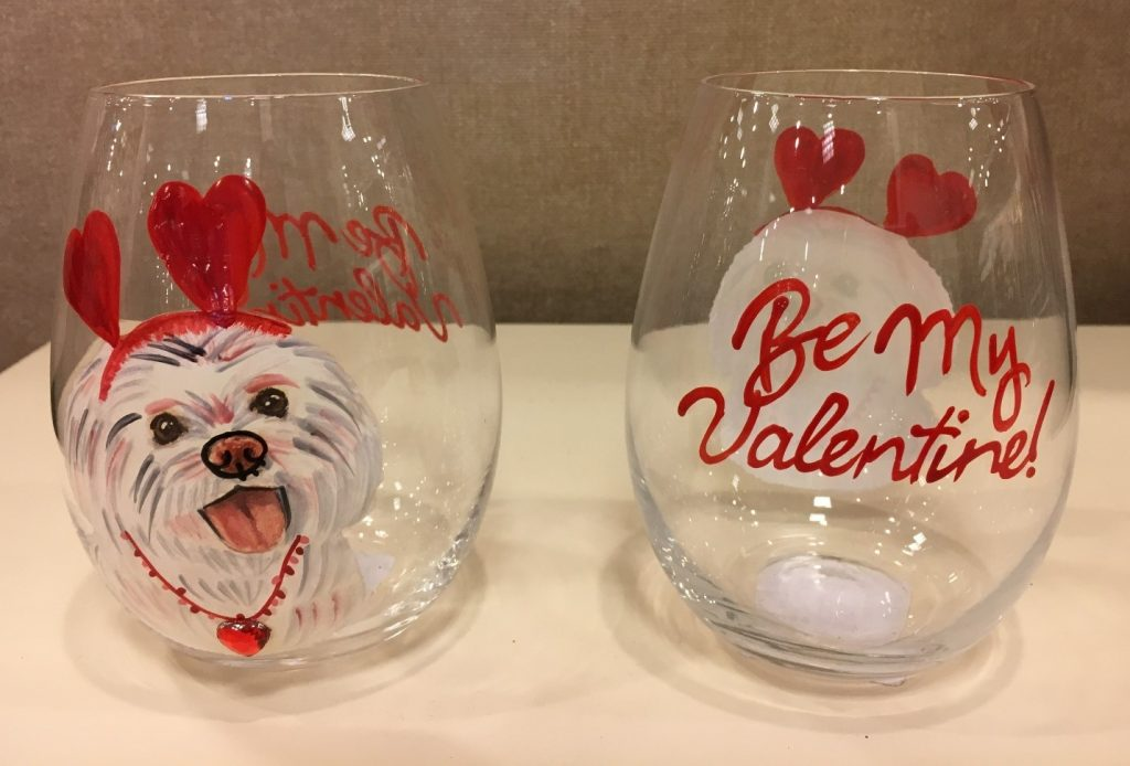 valentines day dia namorados copos decorados