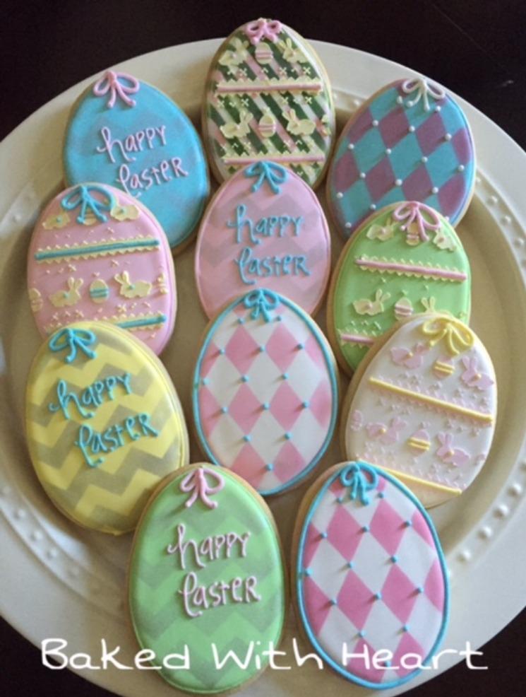 easter cookies pascoa bolacha pintada