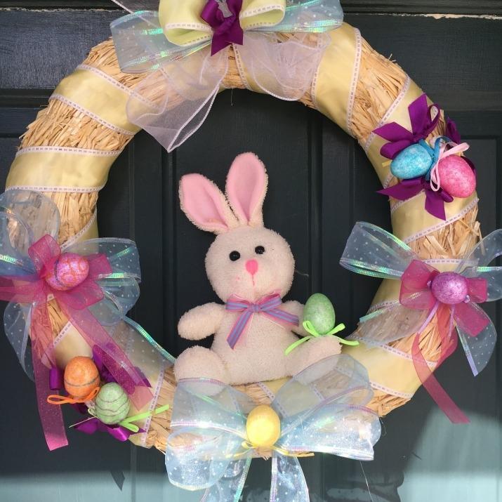 easter decoration guirlanda decoracao pascoa porta