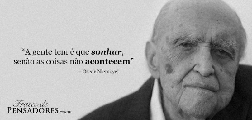 homens maduros carreira Oscar Niemeyer