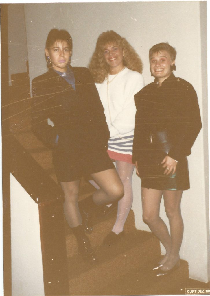 cabelos anos 80 moda