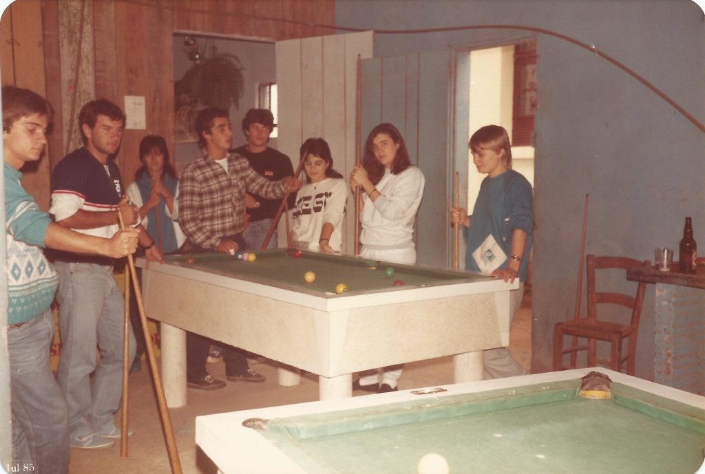moda anos 80 cabelo