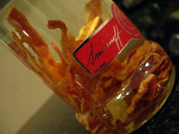 vodka bacon