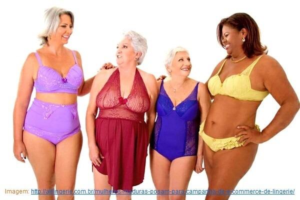 mulheres maduras carreira modelos