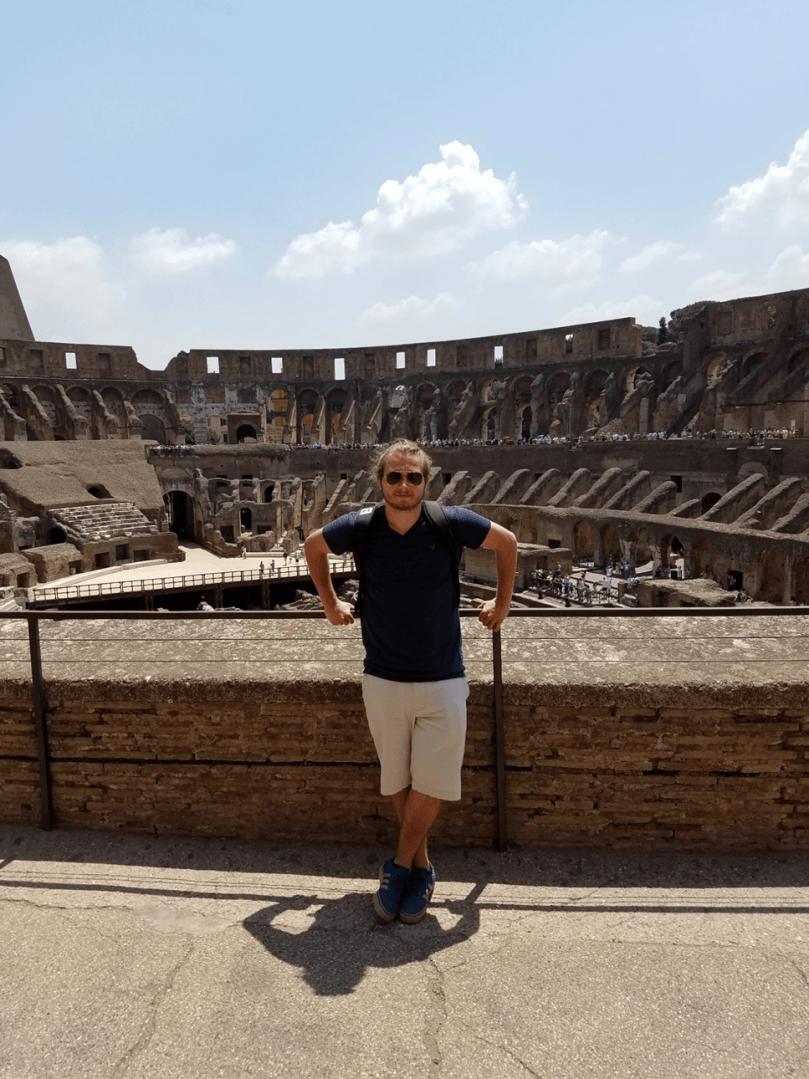 Roma estudar no exterior