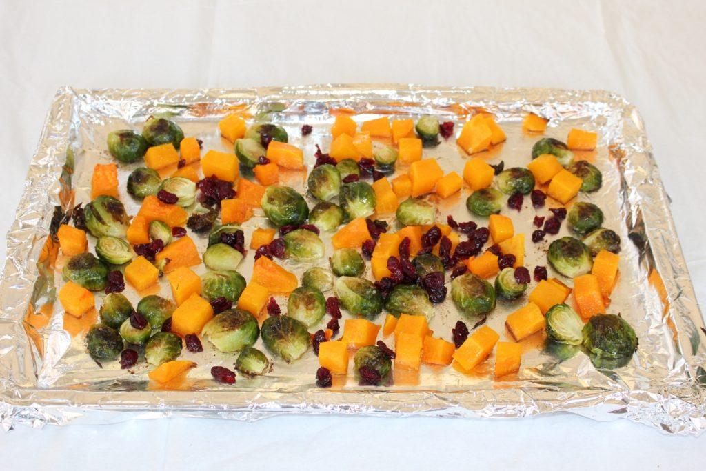 couve-de-bruxelas abobora salada