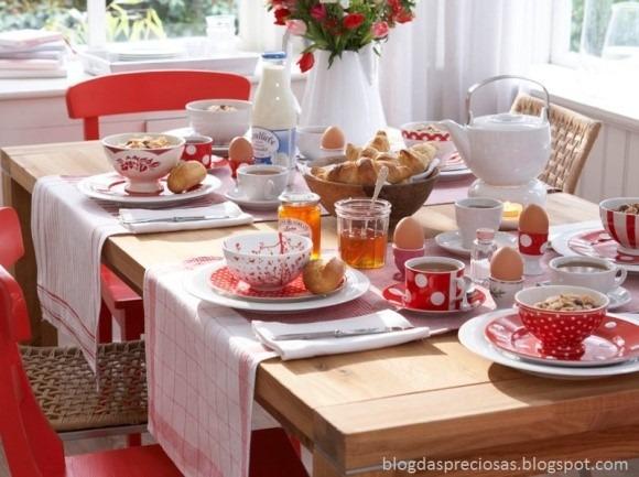 mesa decoração arrumar colocando corretamente arrumar corretamente CAFÉ DA MANHÃ.