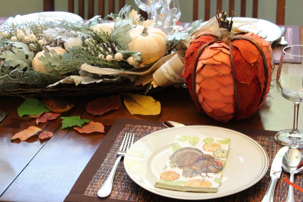 thanksgiving peru table mesa acao de gracas