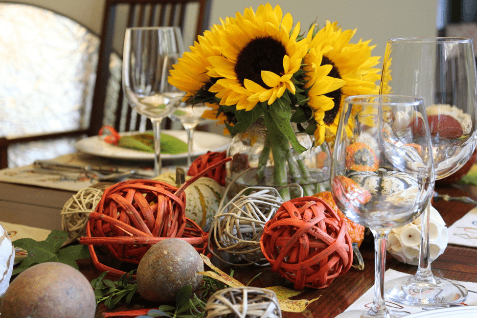 Thanksgiving mesa tablescape fall decoracao de mesa