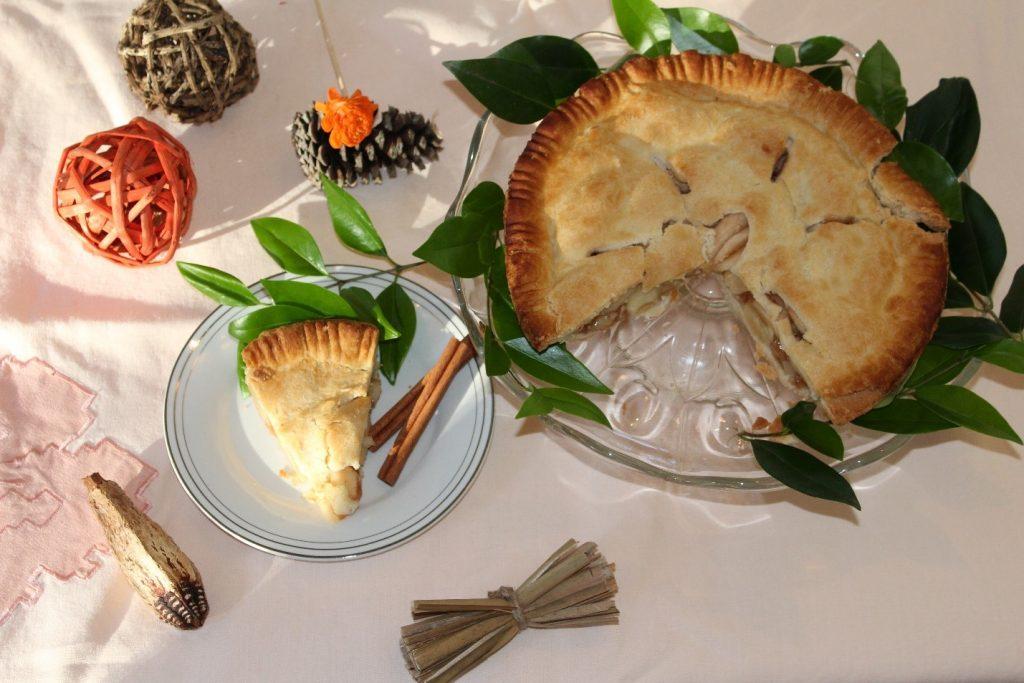 torta de maca apple pie