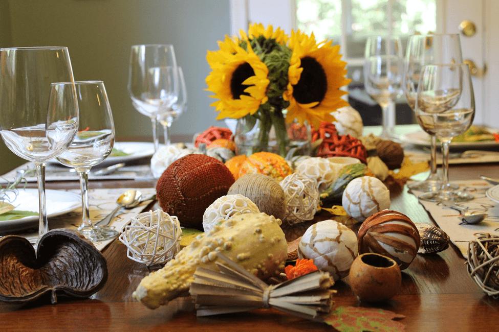 thanksgiving tablescape acao de gracas mesa posta