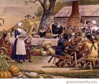 pilgrims peregrinos thanksgiving acao de grcas confraternizacao feast