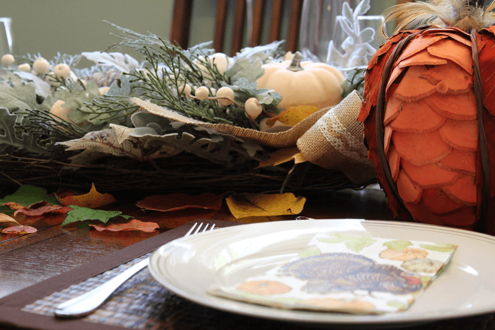 thanksgiving turkey napkin decoration decoracao peru guardanapo mesa table