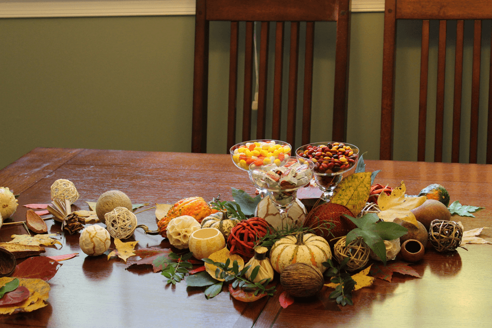 Thanksgiving table decoration acao de gracas mesa decoracao
