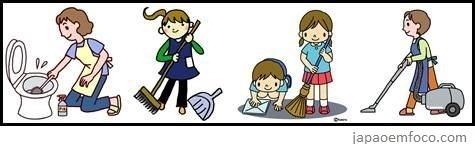 cultura limpeza Japão final de ano