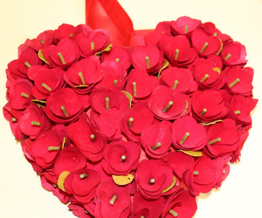 enfeite portas guirlandas dia namorados valentine's day