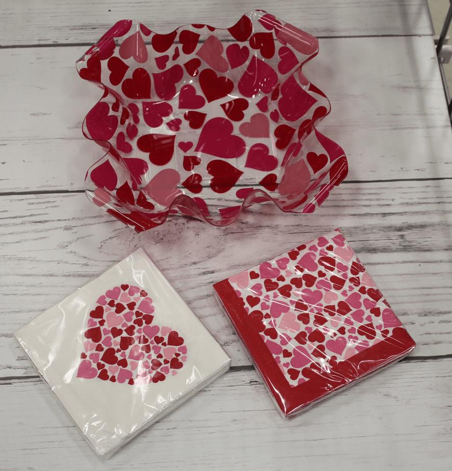 valentine's day decoration decoracao dia namorados amor pratos guardanapos