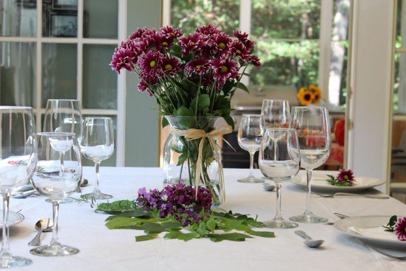 Dicas limpeza casa visitas mesa posta tablescape