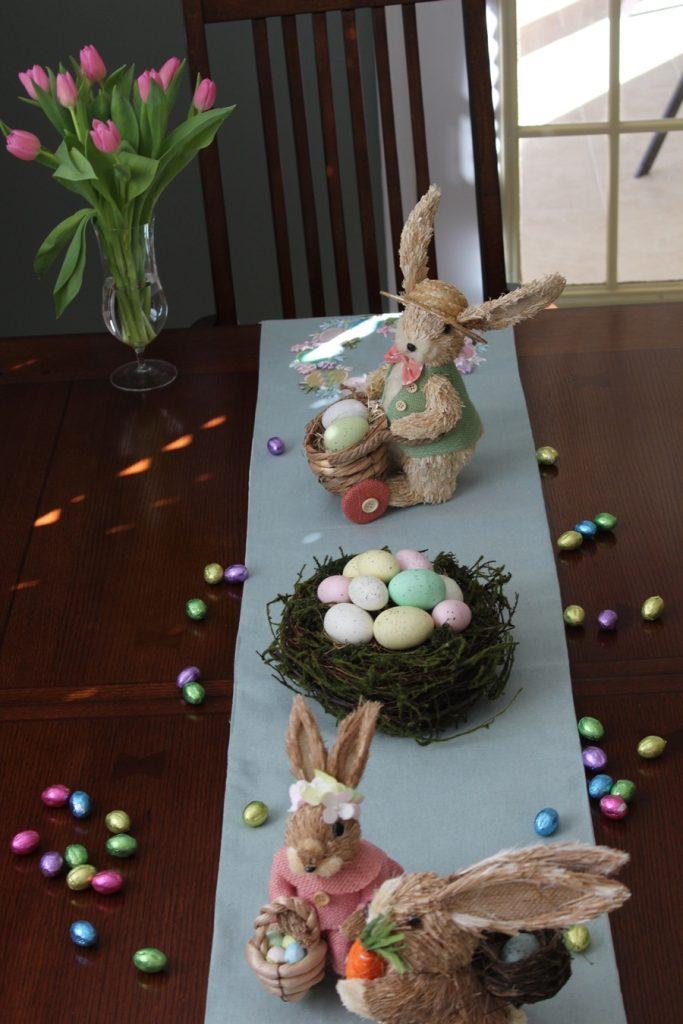 decoracao pascoa mesa table easter decoration