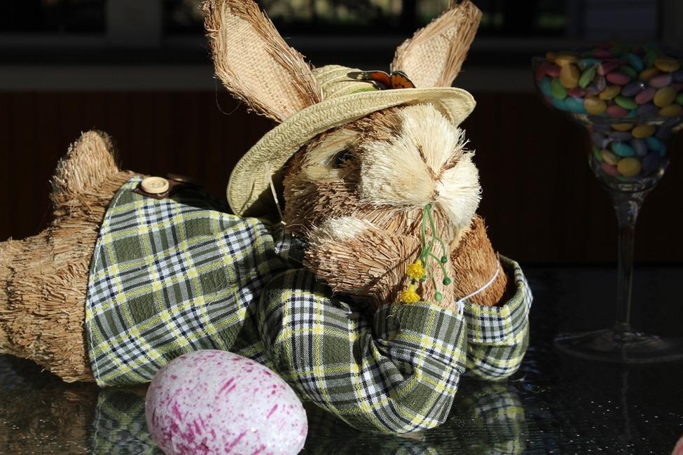 easter decoration bunny decoracao pascoa coelho