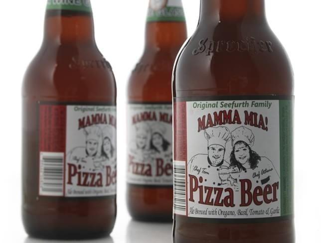 cerveja sabor pizza