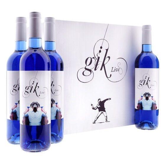 vinho azul gik