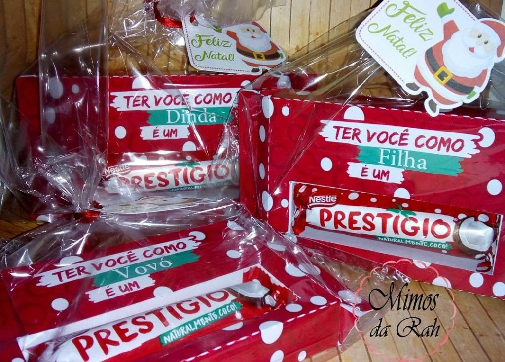 mimos natal presentes chocolates