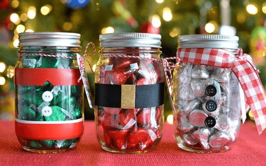 mimos presentes natal potinhos